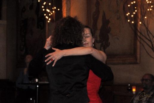 Tango demo van Klaartje Scheer en Selmar Duin bij GOTANGO Breda